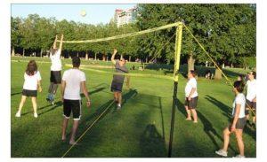 grass volleyball